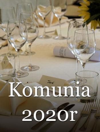 Komunia święta 2020